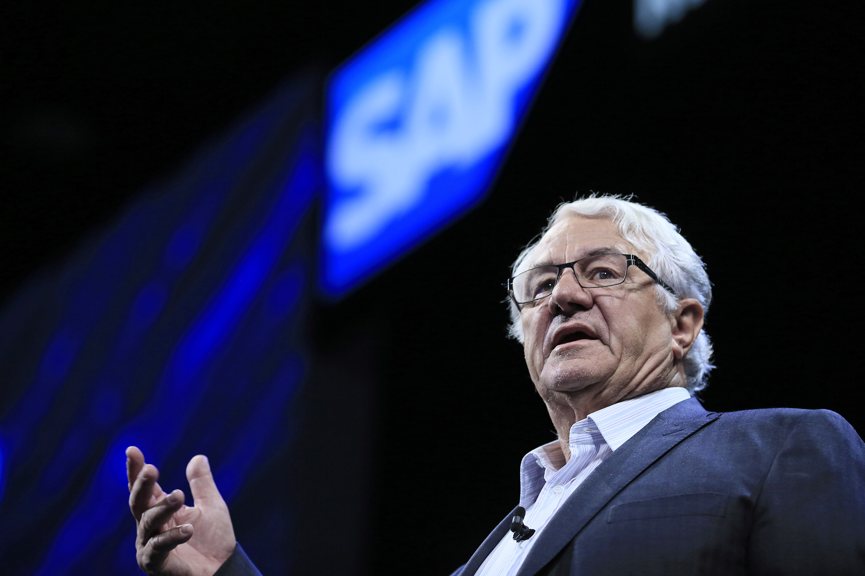 Hasso Plattner at SAPPHIRE Data Warehouse Cloud